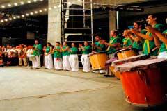 Percúdium grup de percussió de carrer de Barcelona